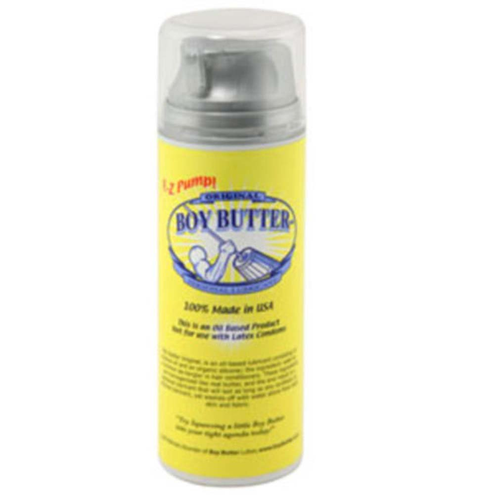 Original Boy Butter Personal Lubricant 5 Fl.Oz 148 mL EZ Pump - View #1