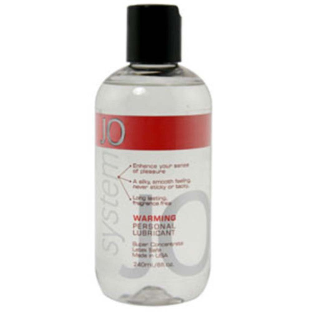 System JO Warming Personal Lube 8 Fl. Oz. - View #1