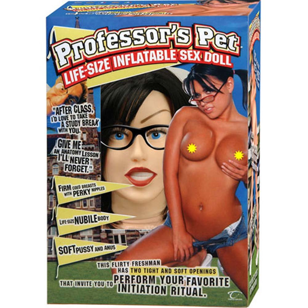 Professors Pet Life Size Vibrating Inflatable Sex Doll - View #2