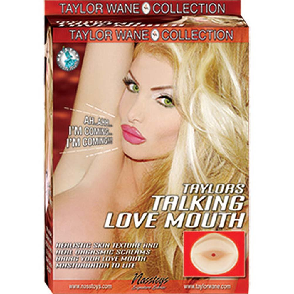 Taylor Wane Talking Love Mouth Masturbator - View #3