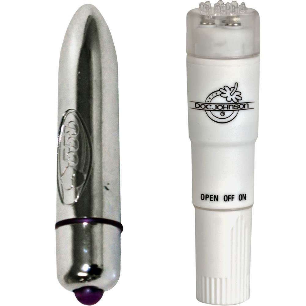 Pocket Rocket with Turbo Bullet Waterproof Vibrator Bundle - View #2