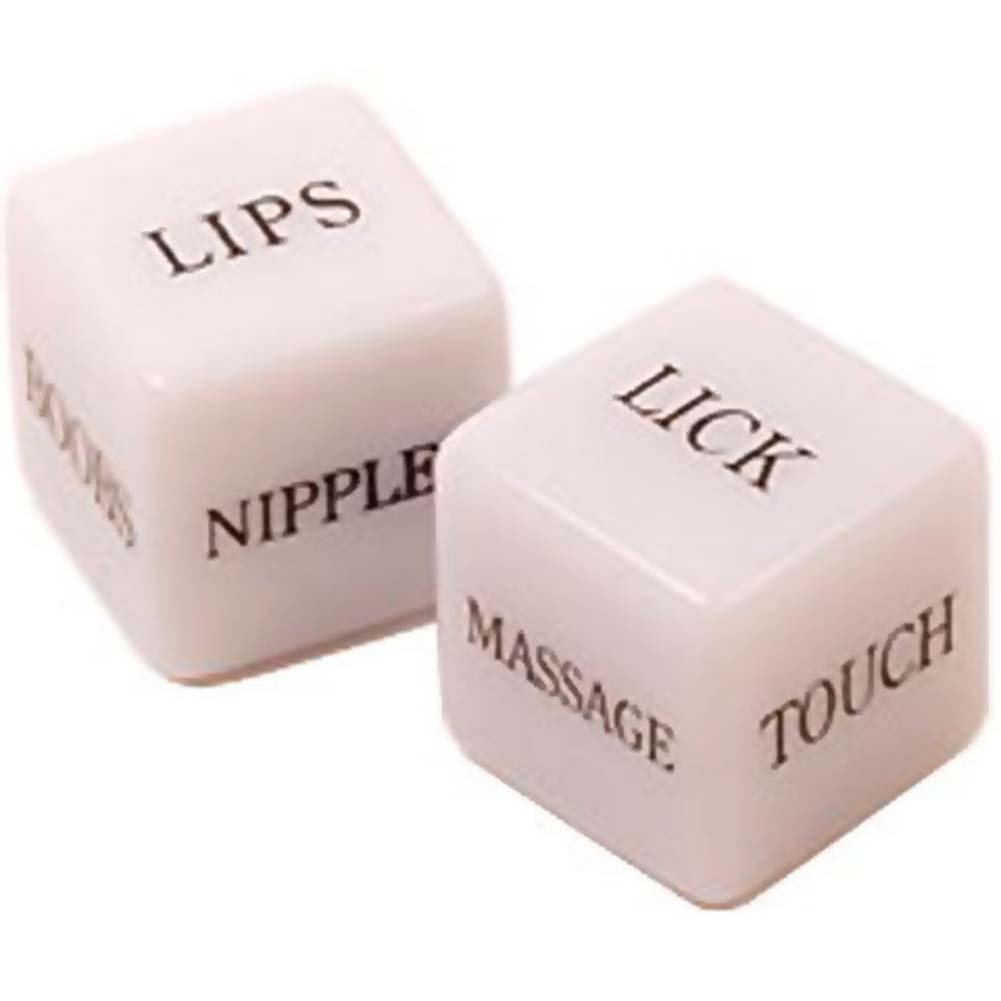 "Realistic Dong and Erotic Dice Combo Kit 8"" Flesh - View #3"