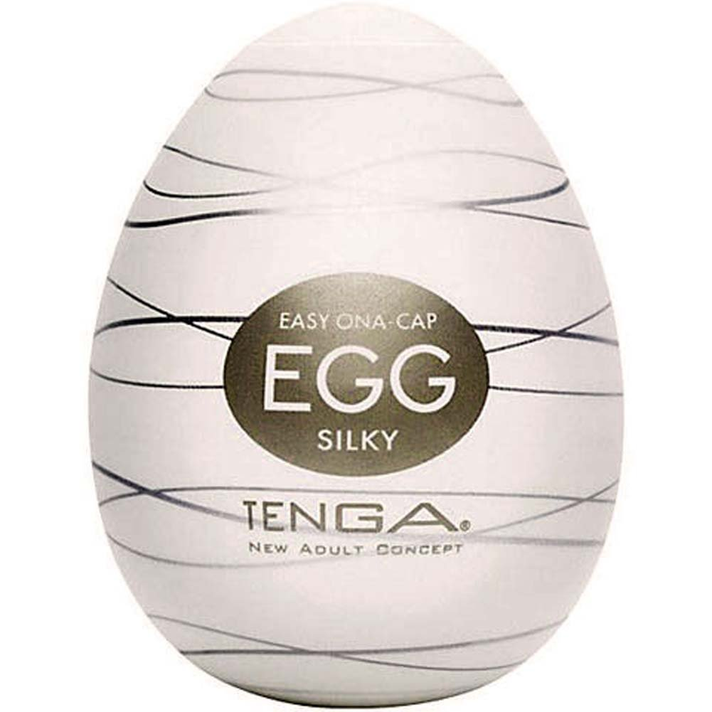 Tenga SILKY Male Masturbation Egg Pack of 6 - View #1