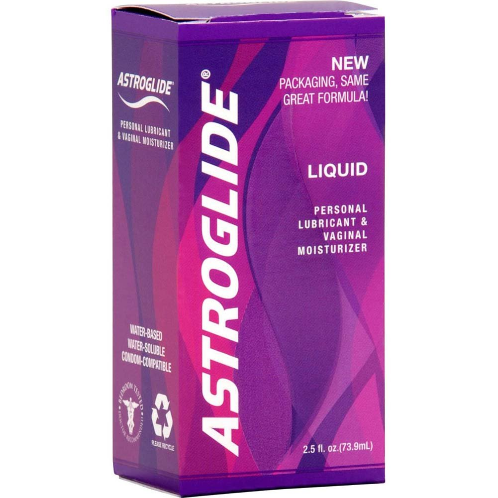 Astroglide Personal Lubricant 2.5 Fl. Oz. Bottles Pack of 4 - View #4
