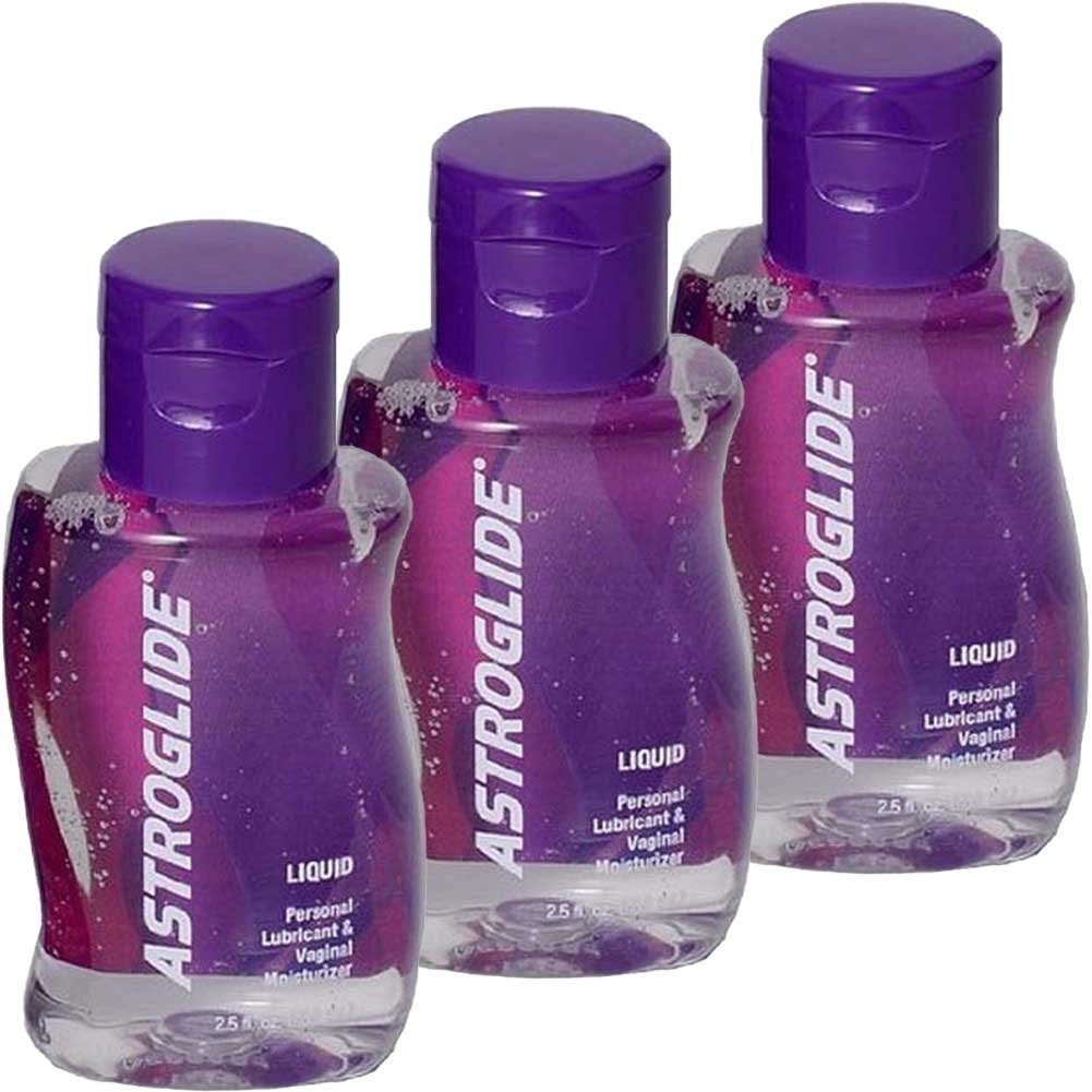 Astroglide Personal Lubricant 2.5 Fl. Oz. Bottles Pack of 3 - View #2