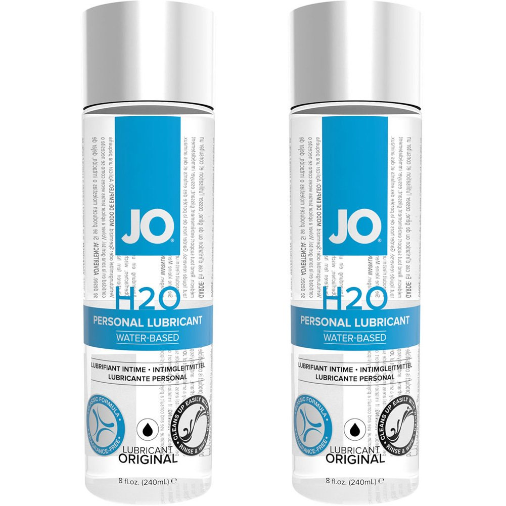 2 PACK JO H2O Water Based Personal Lubricant 8 Fl. Oz. - View #1