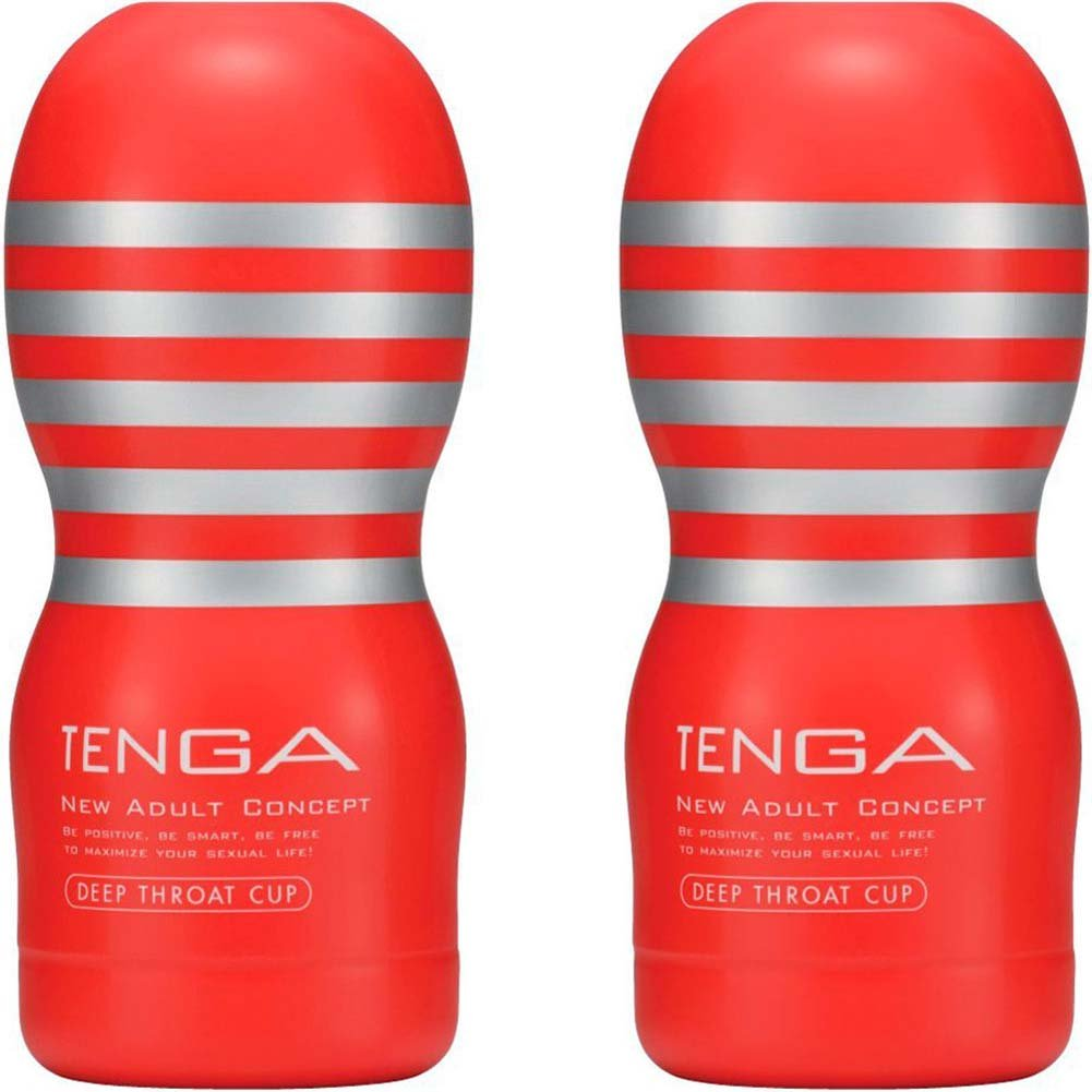 Tenga Disposable Deep Throat Cup Stroker Regular Size Set of 2 - View #2