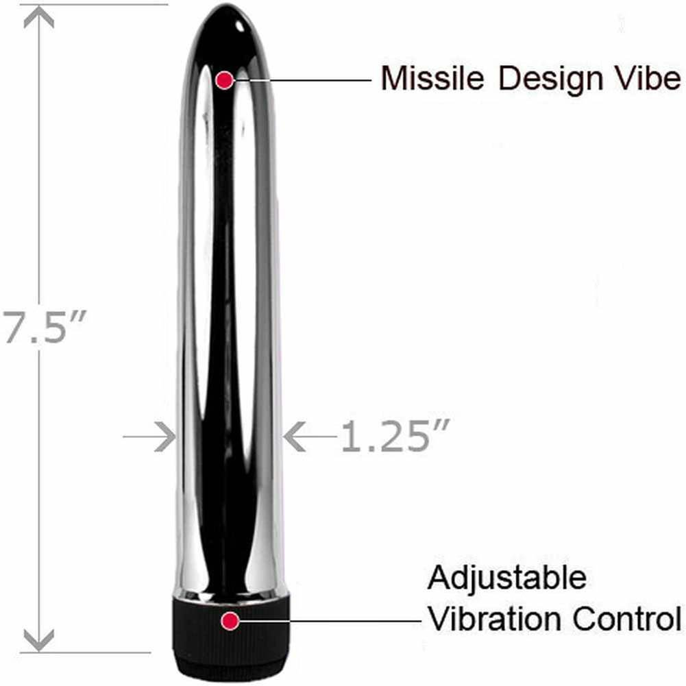 "Beginner Power Pump for Men and 7"" Personal Vibrator Combo - View #2"