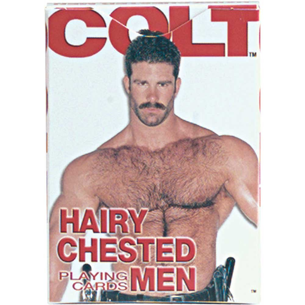 Colt Hairy Chested Men Playing Cards 2 Pack - View #1