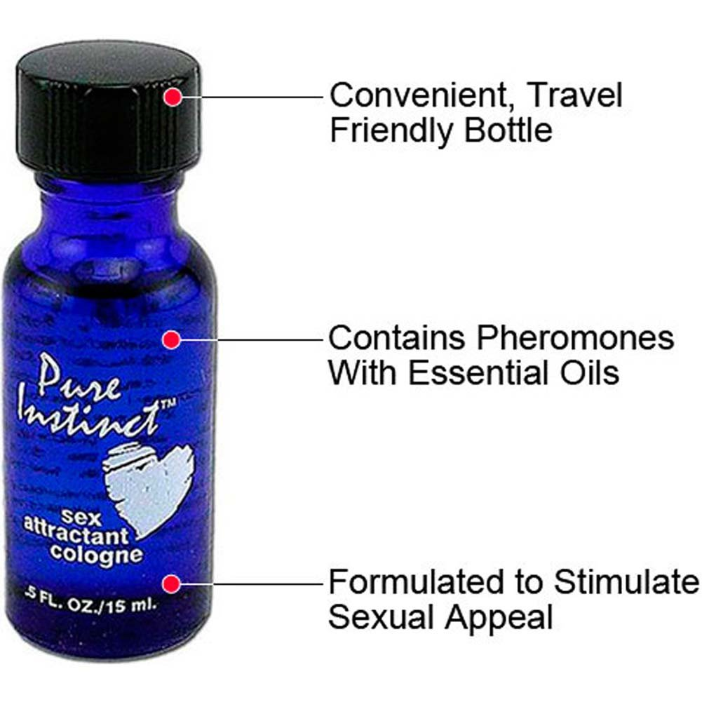 Pure Instinct Perfume Bundle with Solid Roll-On and Classic Blue Bottle - View #1