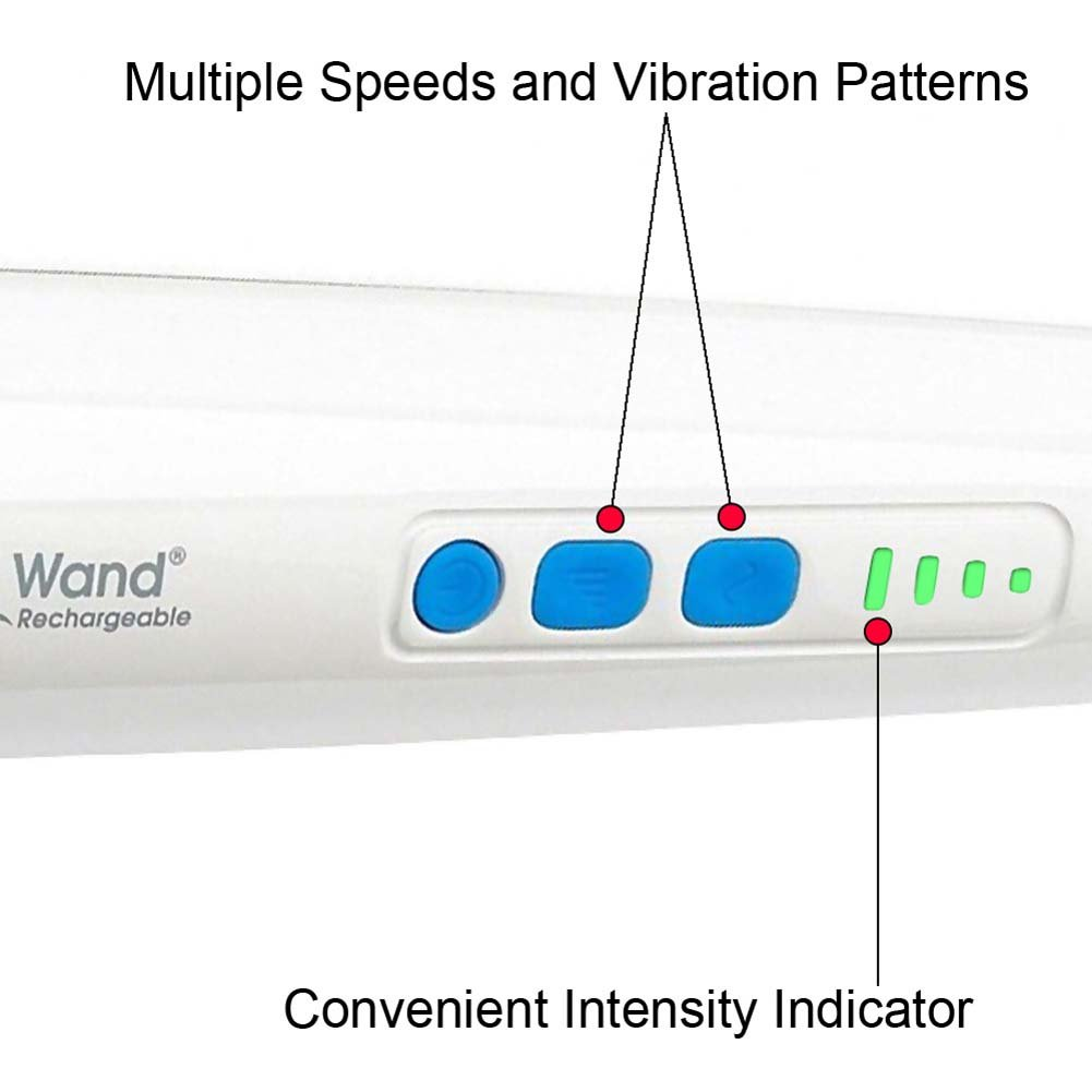 Rechargeable Magic Wand Original Premium Body Wand Massager with 4 Fl.Oz Toy Cleaner - View #4