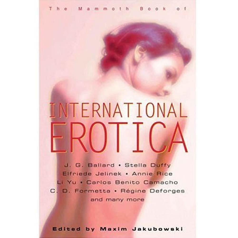 Mammoth Book of International Erotica - View #1