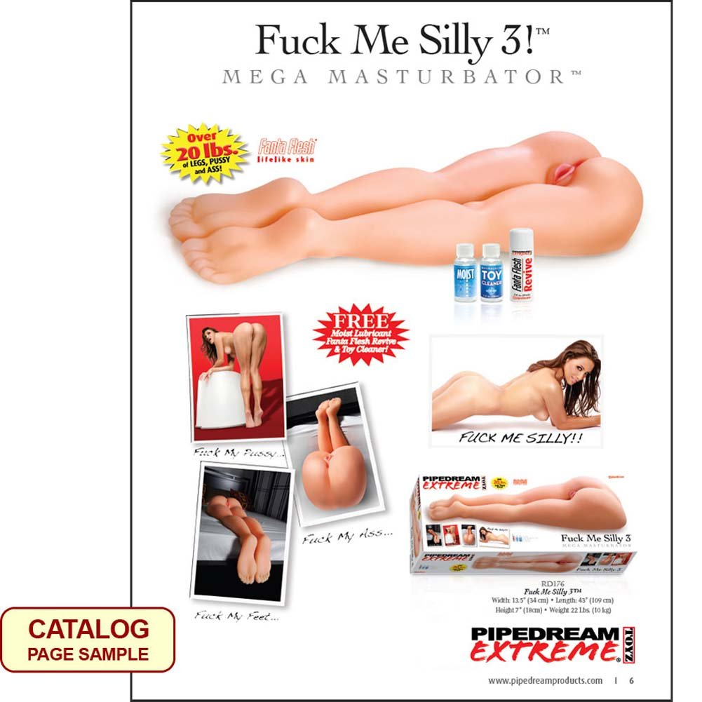 Pipedream Fuck Me Silly 2011 Catalog - View #3