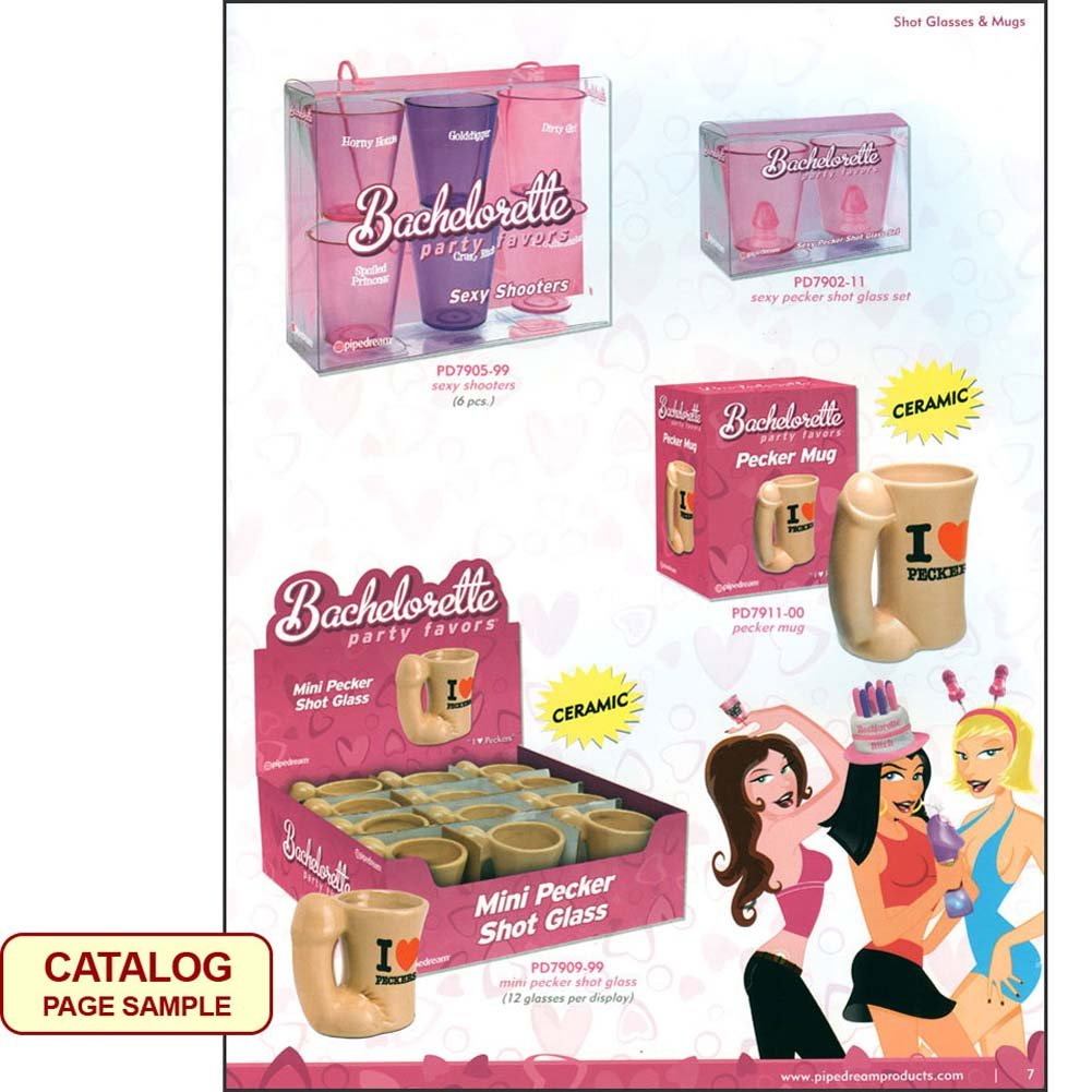 Pipedream Bachelorette Party Favors 2012 Catalog - View #2