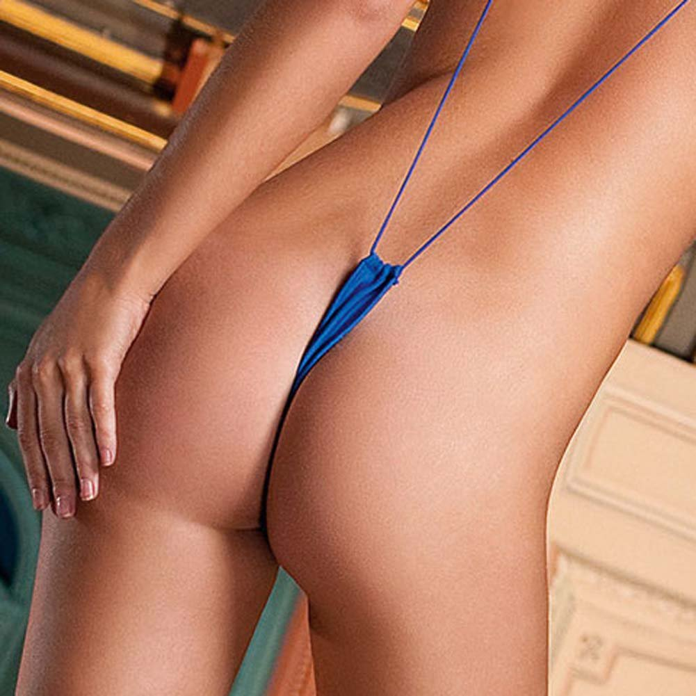 Slingshot Microfiber Thong Royal Blue - View #4