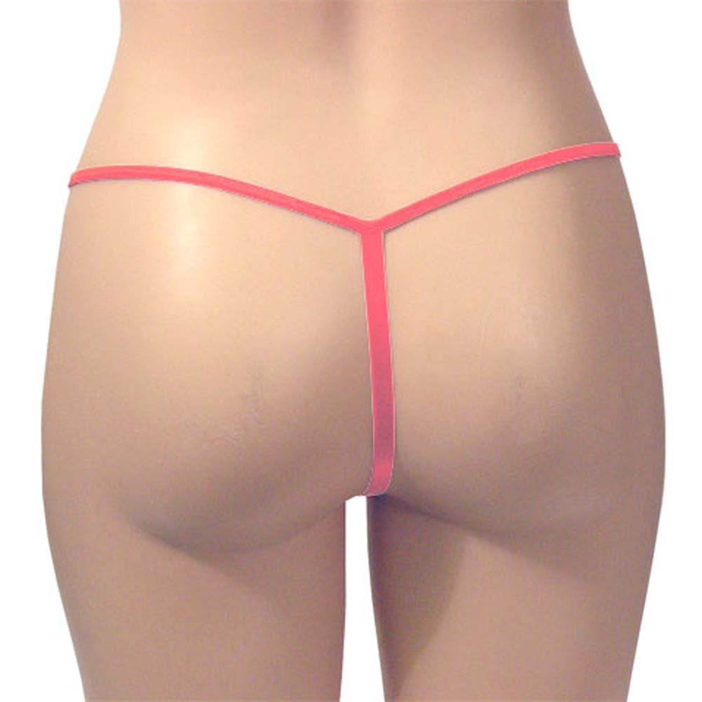 G-String Panty Tea Rose One Size - View #3