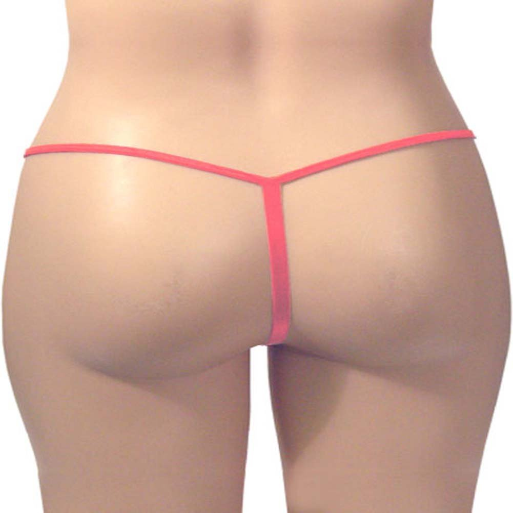 G-String Panty Tea Rose Plus Size - View #3