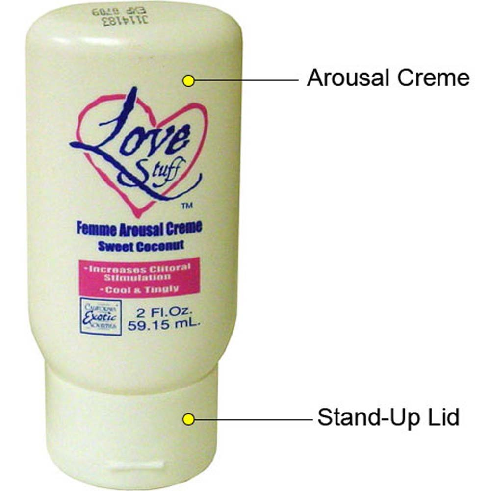 Love Stuff Femme Arousal Creme Sweet Coconut 2 Fl. Oz. - View #1