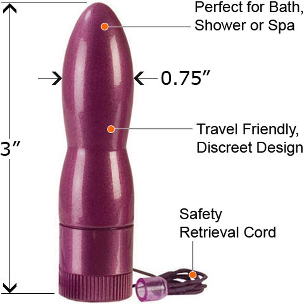"Mini Mega Massager Waterproof Power Bullet 3"" - View #1"