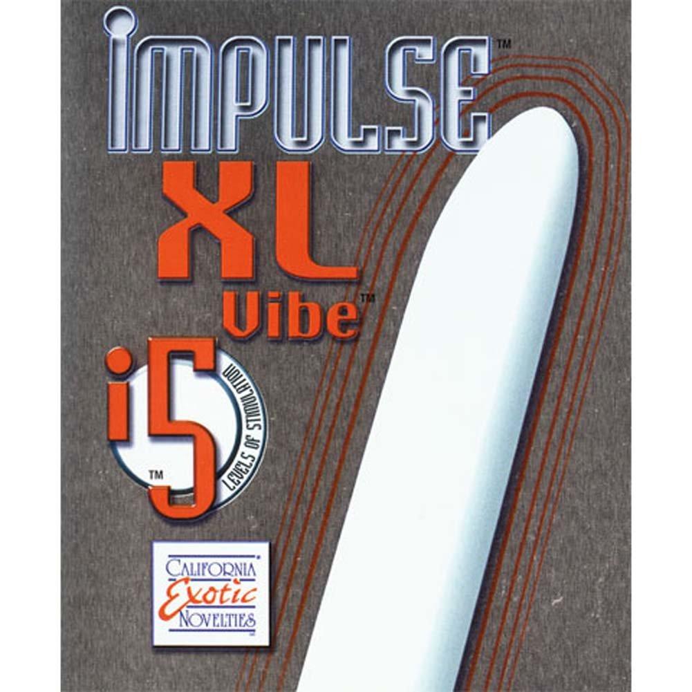 "Impulse XL Waterproof Vibe 10"" White - View #3"