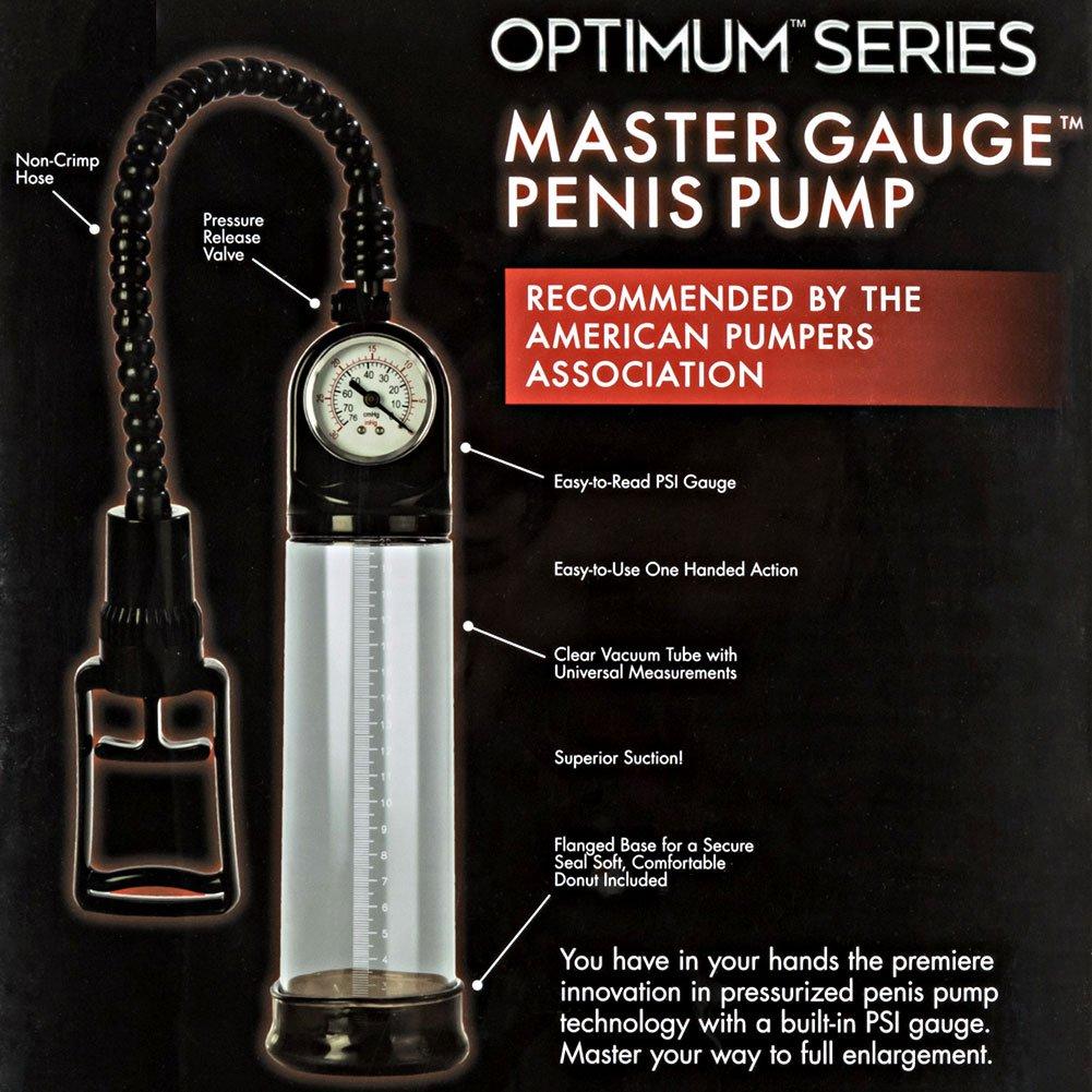 CalExotics Master Gauge Penis Pump for Men - View #1