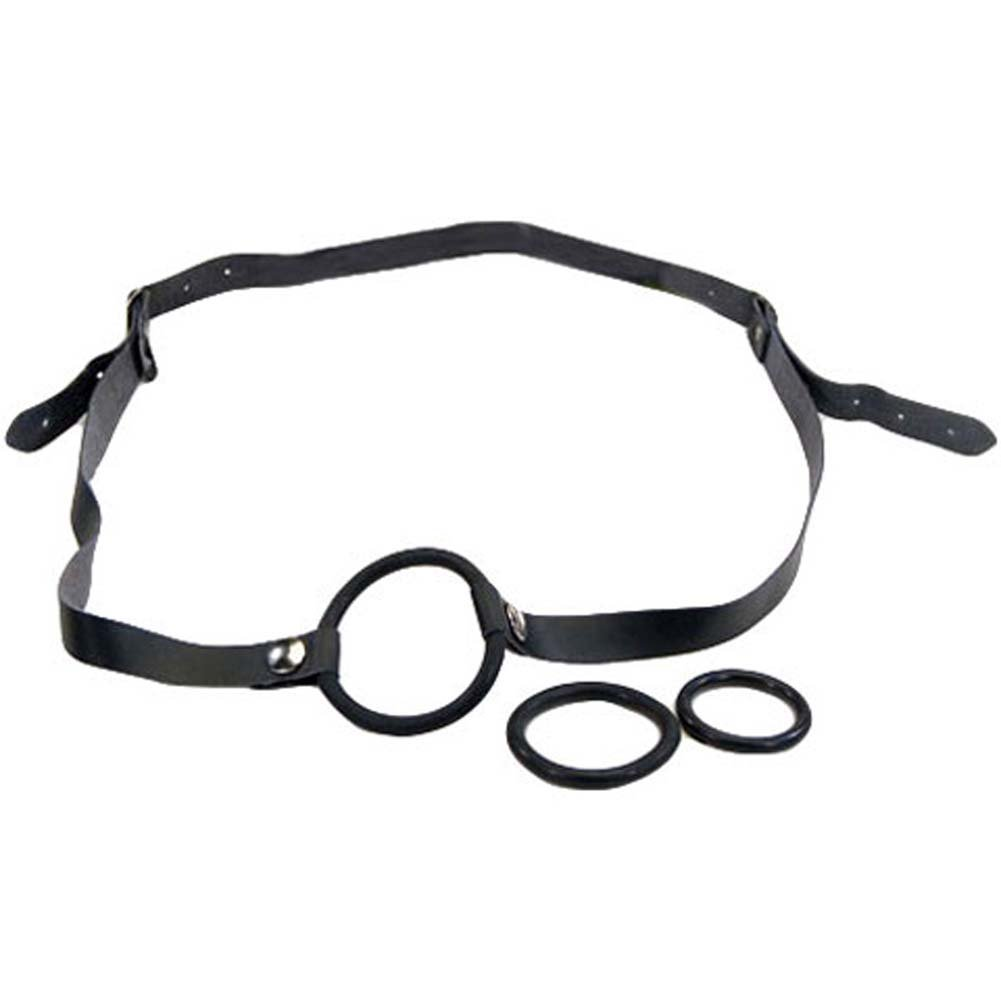 Strap-On Cock Ring Set Black. - View #2