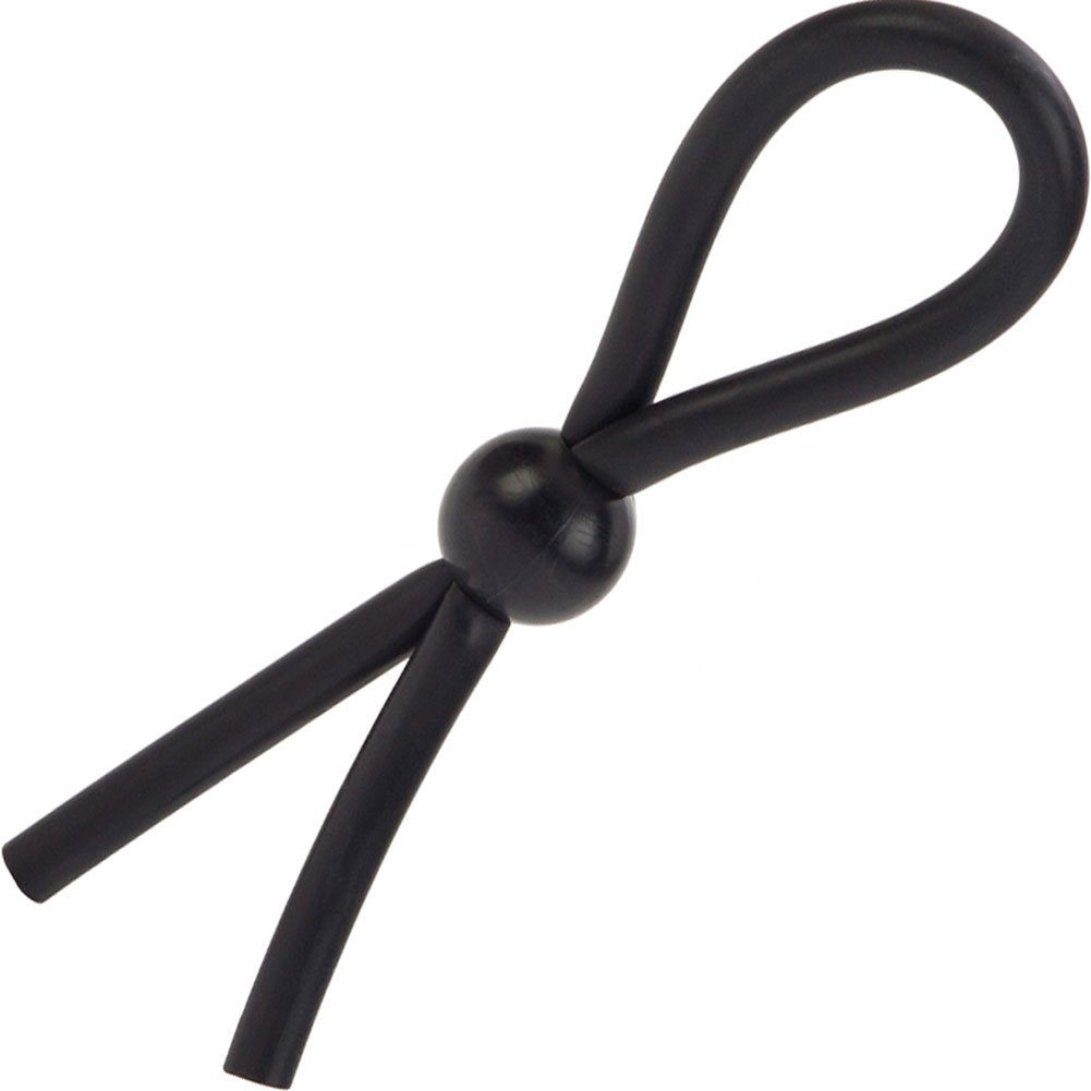 CalExotics Dr. Joel Kaplan Erection Enhancing Rubber Lasso Ring Black - View #2