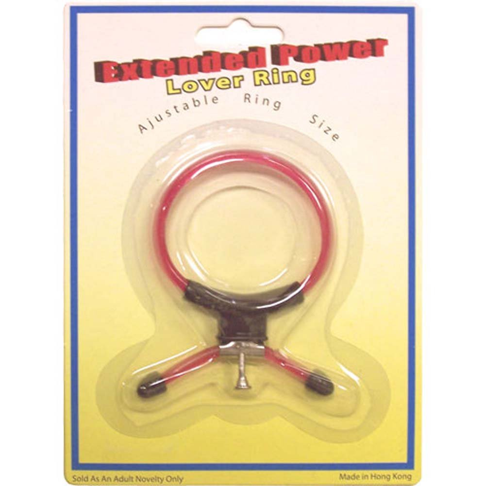 Extended Power Lover Ring Adjustable Size - View #1