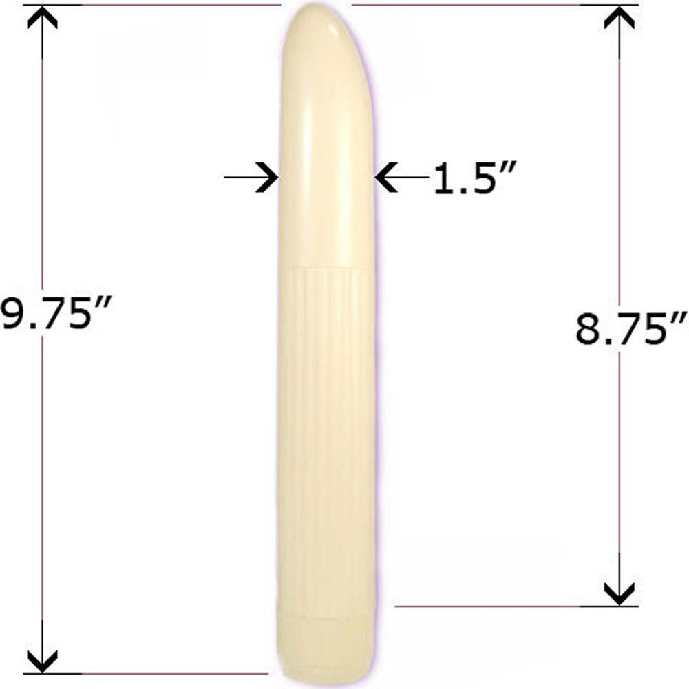 Vibrating Multispeed Portable Massager Ivory 9.75 In. - View #2