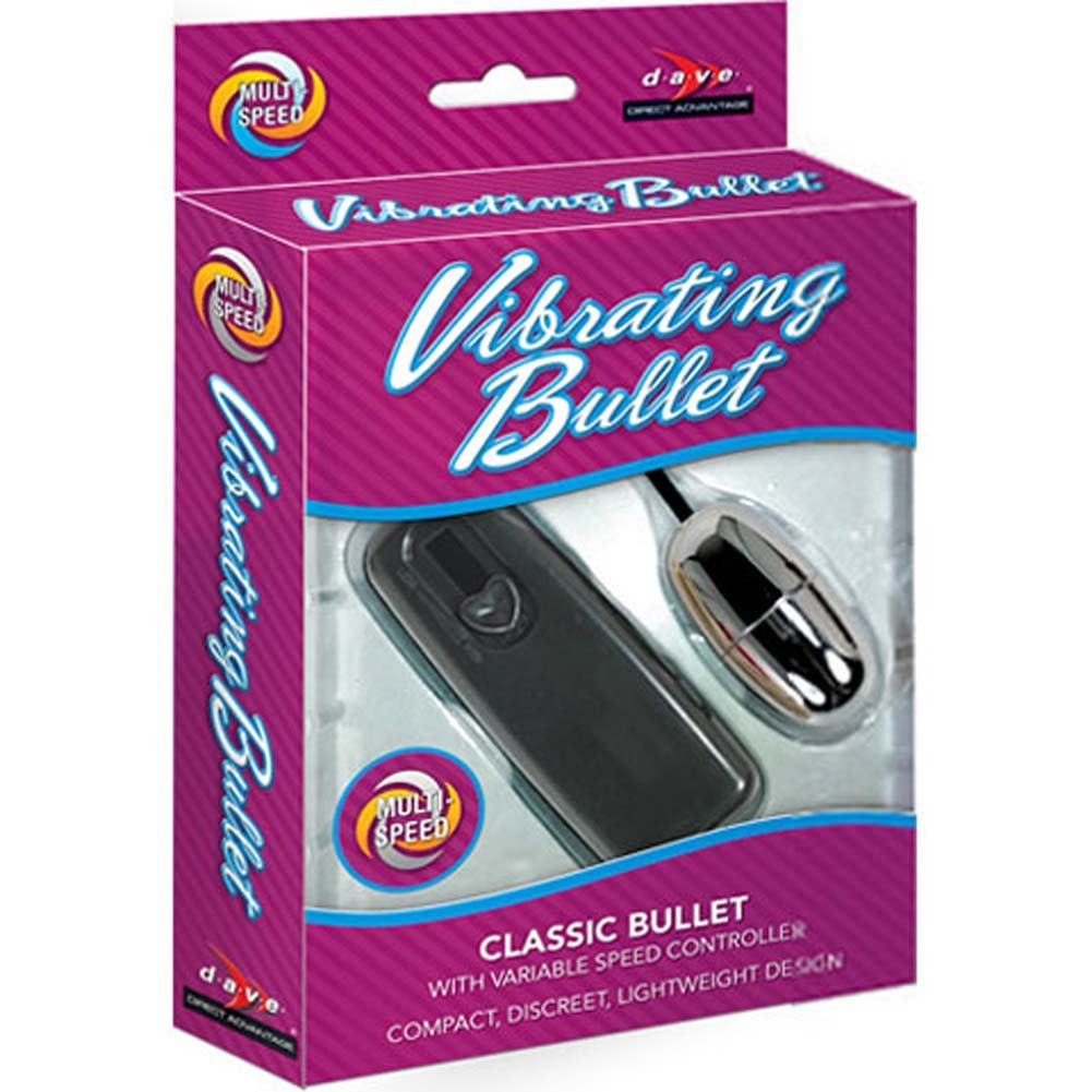 Vibrating Multispeed Silver Bullet with Remote Control Black - View #3