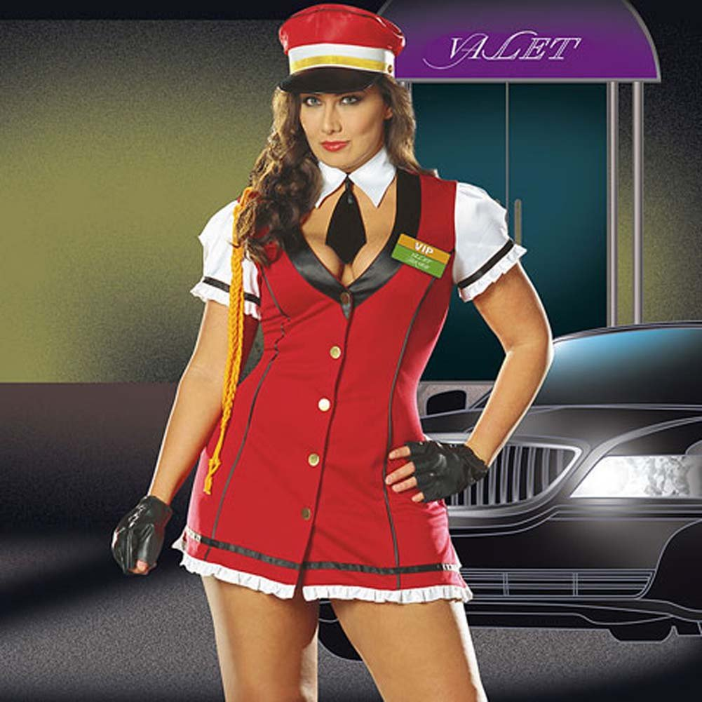 VIP Valet Service Costume Plus Size 1X/2X - View #1