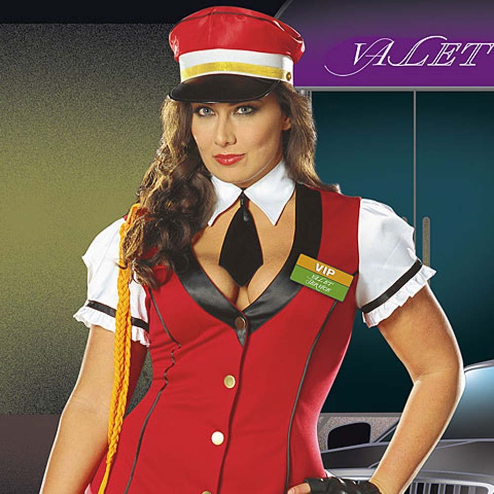 VIP Valet Service Costume Plus Size 1X/2X - View #3