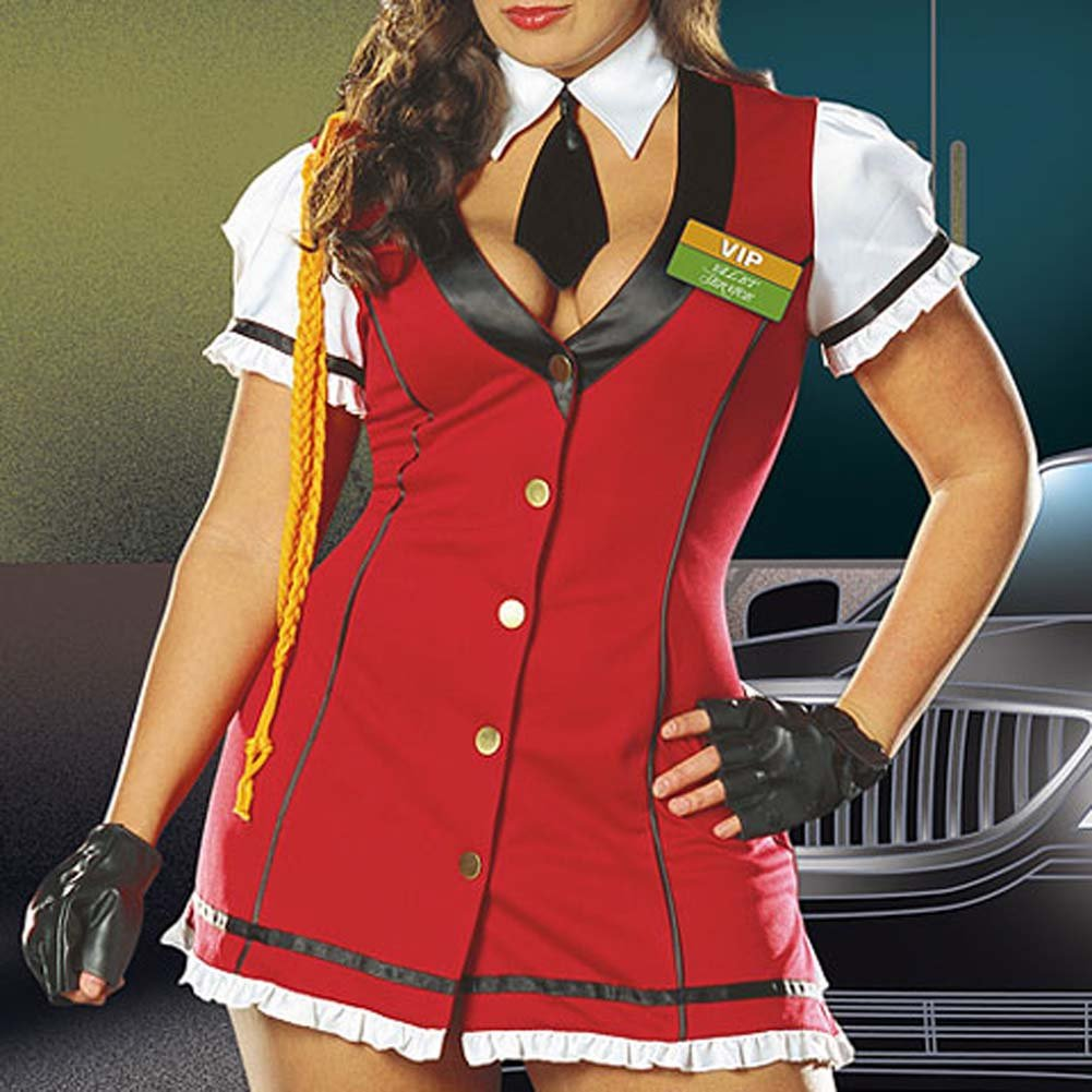 VIP Valet Service Costume Plus Size 3X/4X - View #4