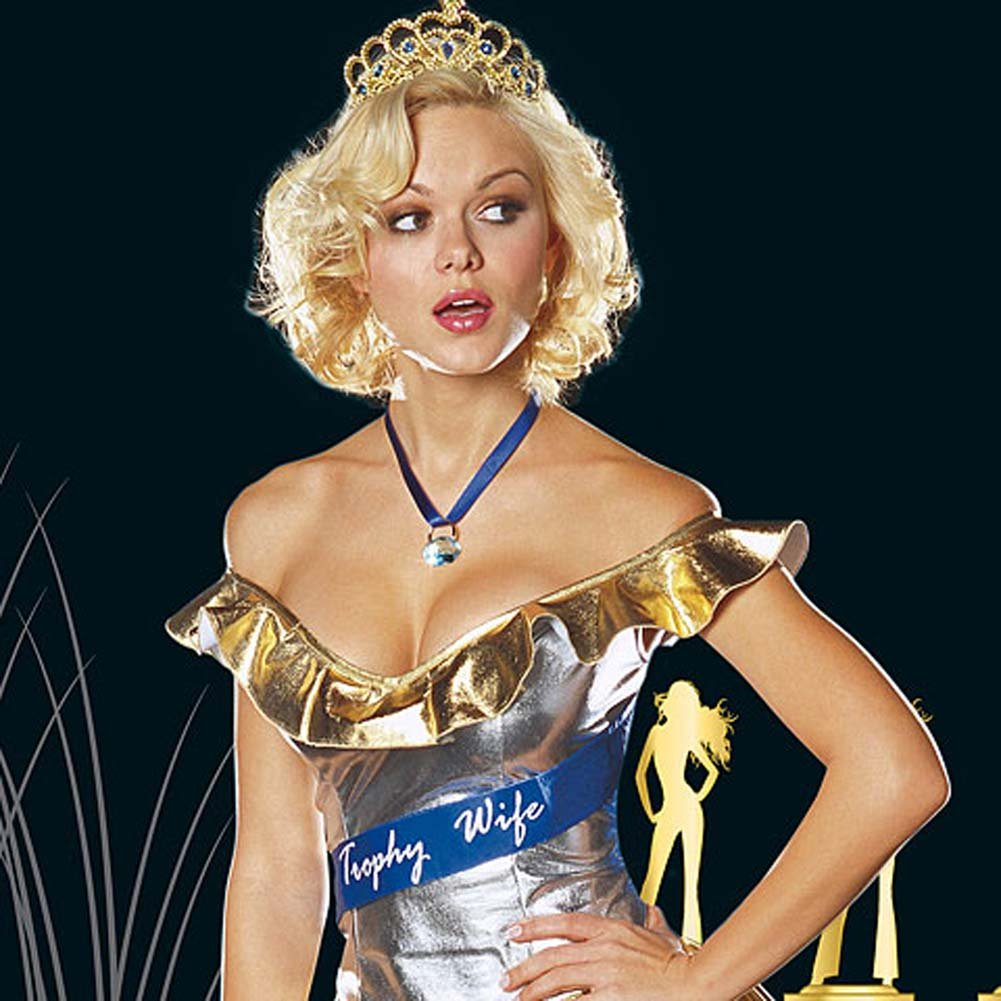 Trophy Wife Costume Small - View #2