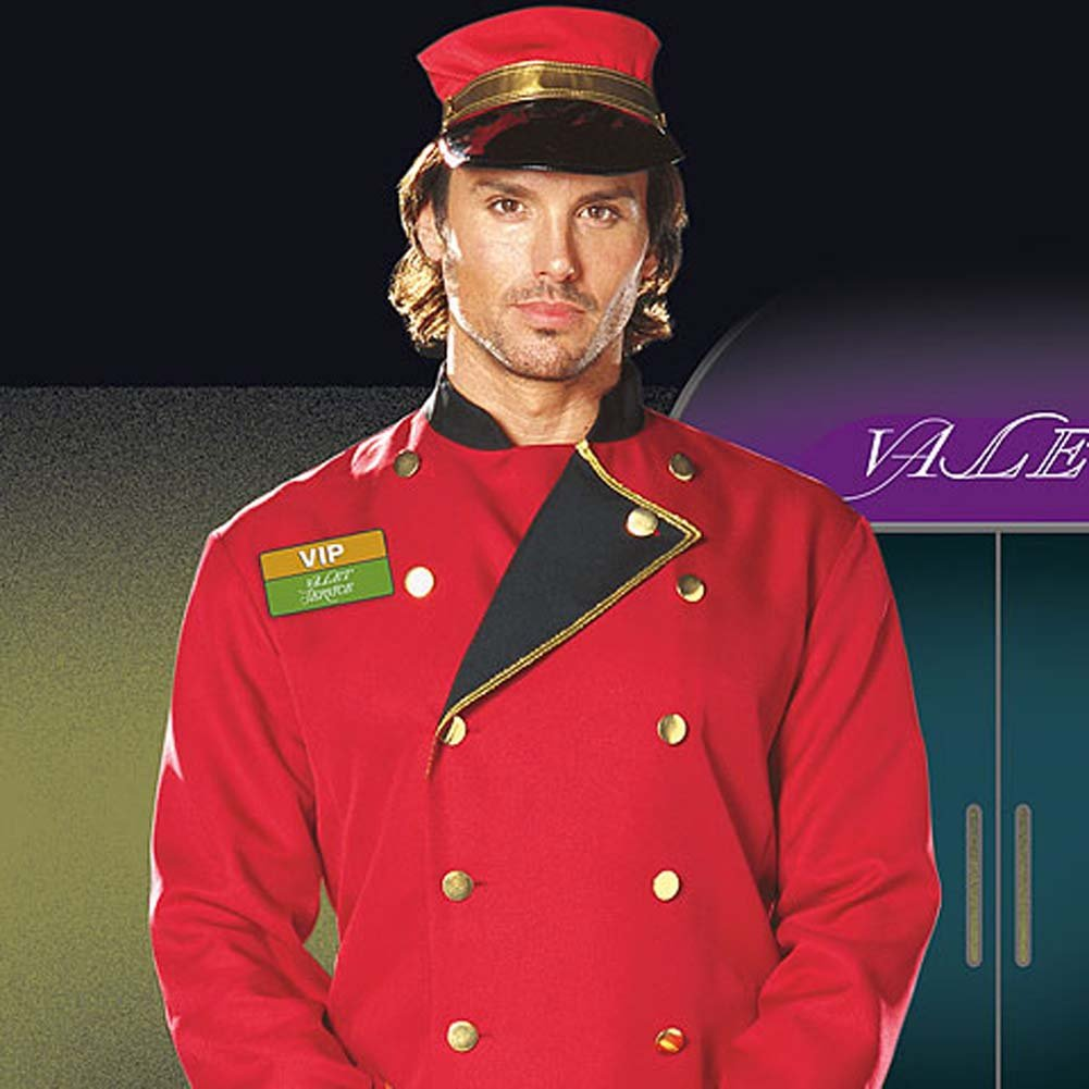 Mr. VIP Valet Male Costume Large - View #2