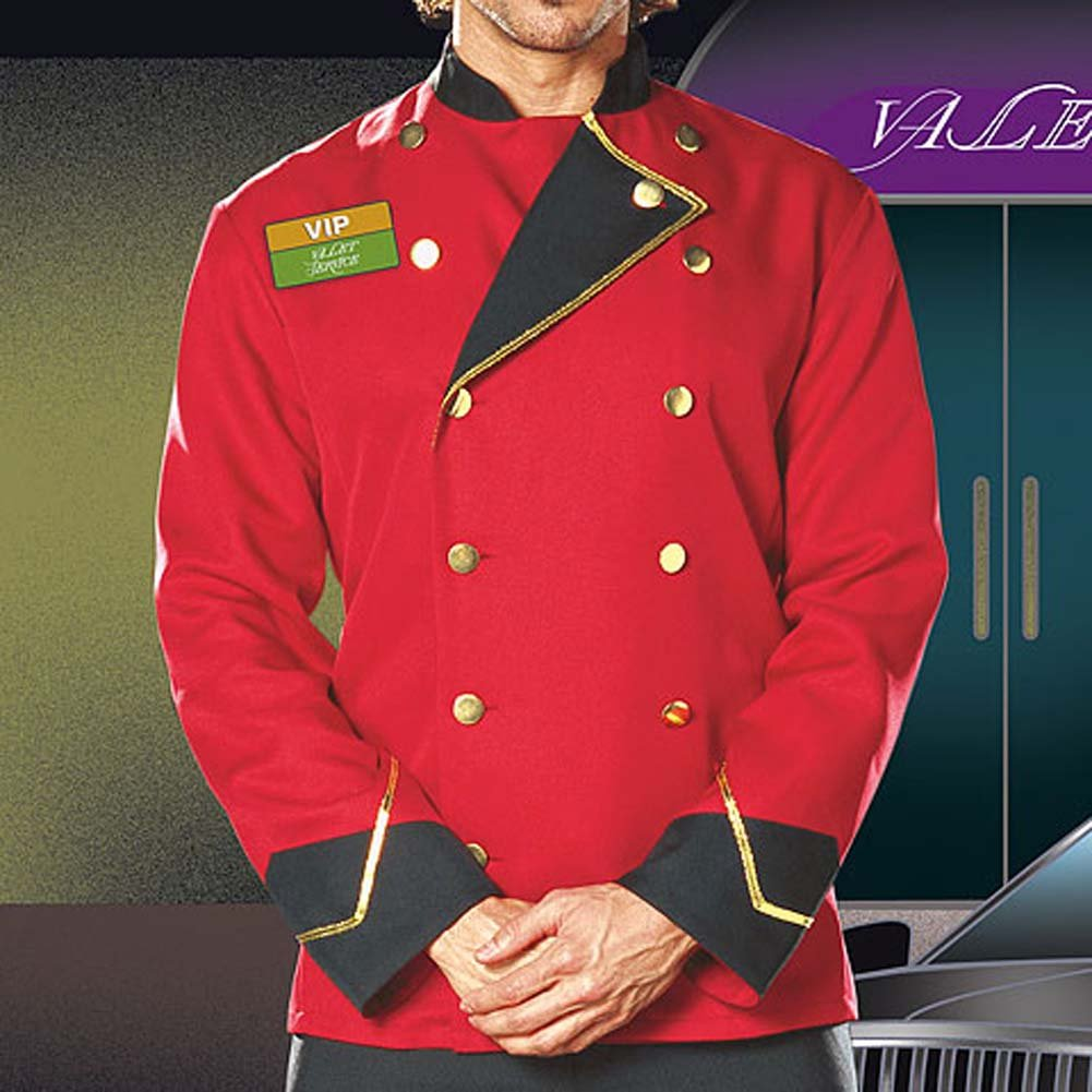 Mr. VIP Valet Male Costume Extra Large - View #3