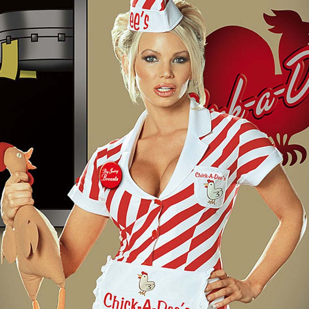 Chick A Dees Chicken Shack Costume Small - View #2