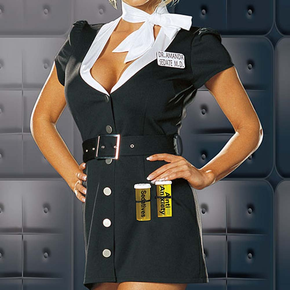 Dr. Amanda Sedate Costume Small - View #3