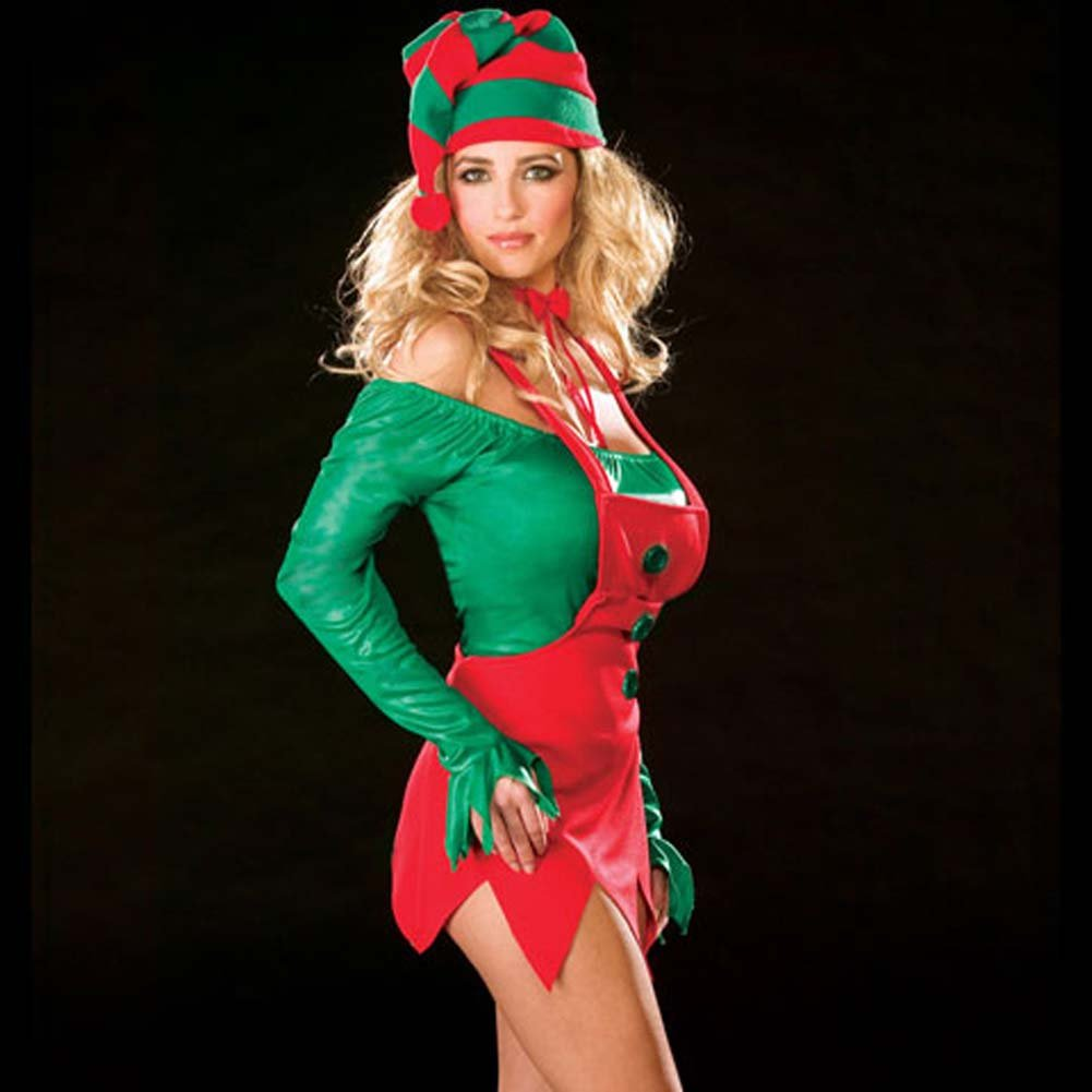 Ellie Elf Costume Large - View #3