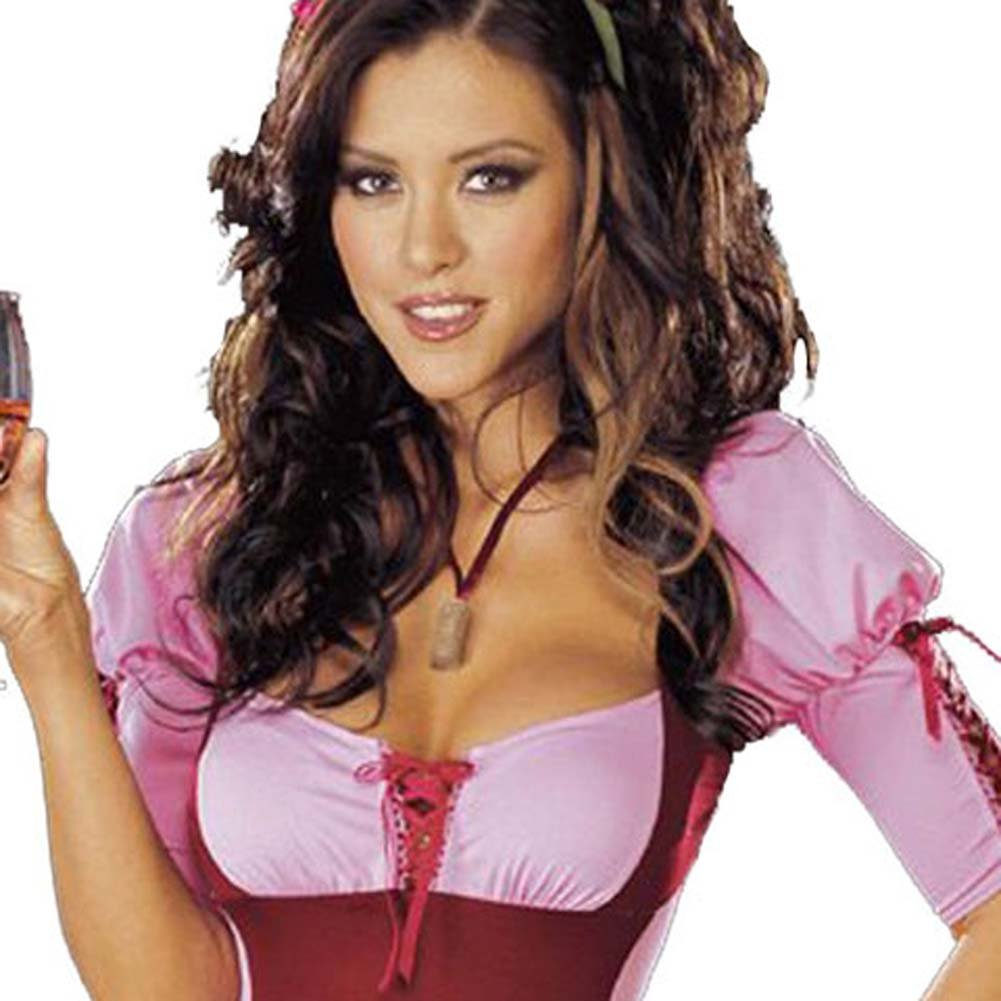 Vineyard Vixen Costume Pink Small - View #2