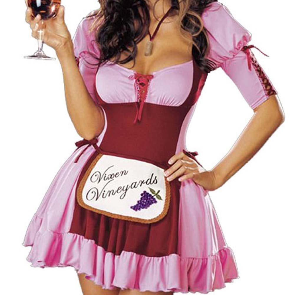 Vineyard Vixen Costume Pink Large - View #4