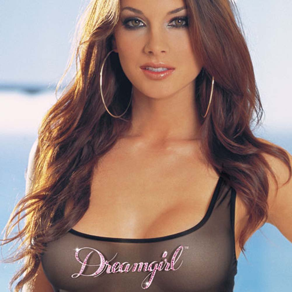 Dreamgirl Tank Dress and Thong Set Large - View #3