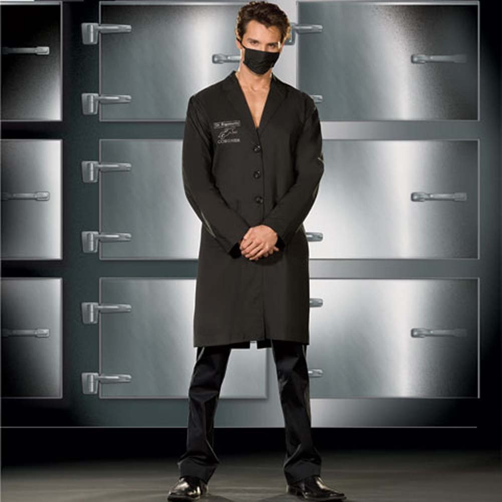 Dr. Rigamortis Costume for Men XX Large Black - View #1