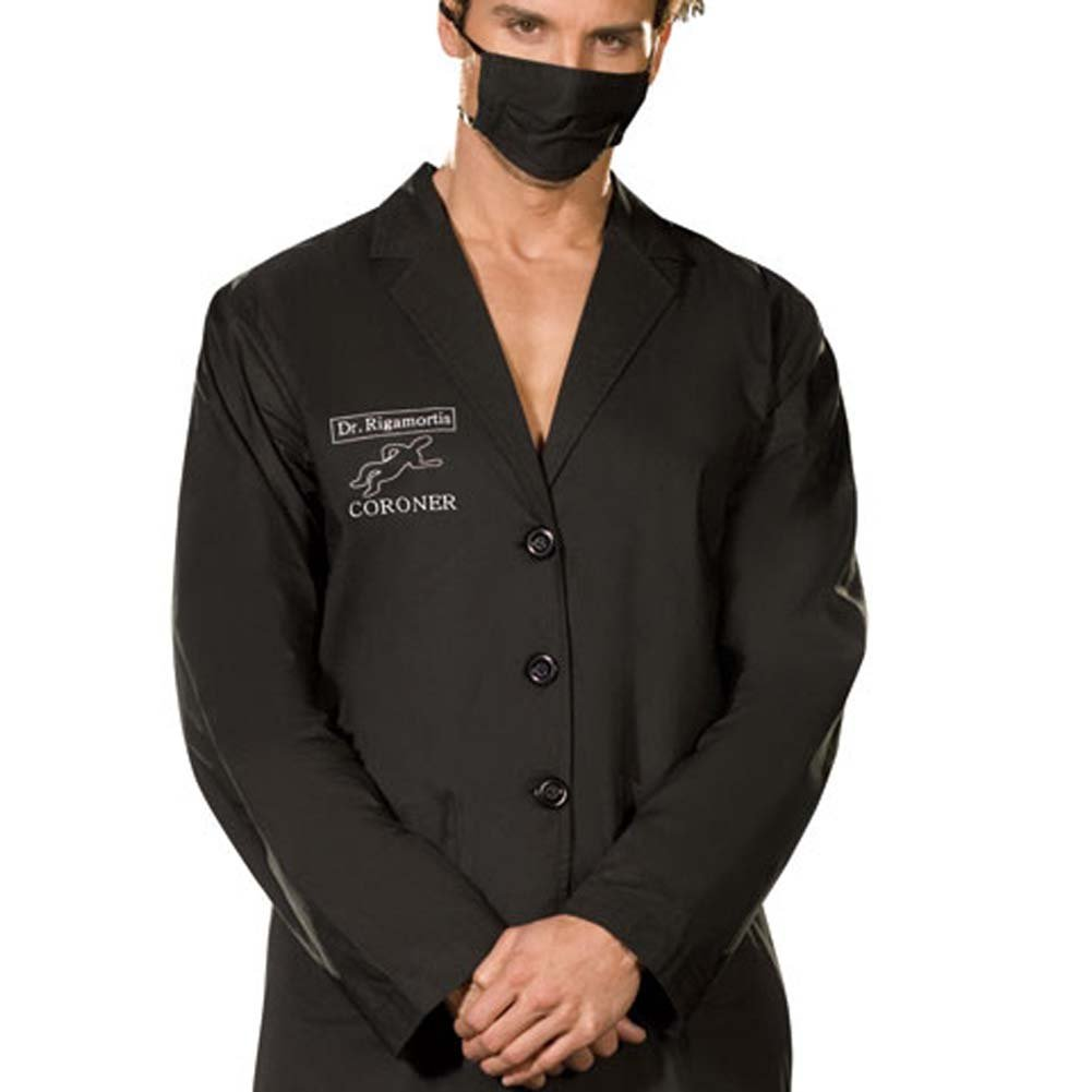 Dr. Rigamortis Costume for Men XX Large Black - View #3