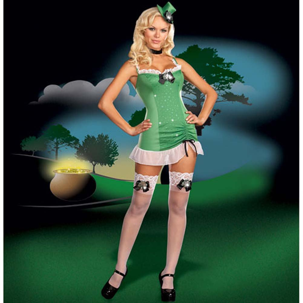 Patti St. Patrick Costume Large - View #2