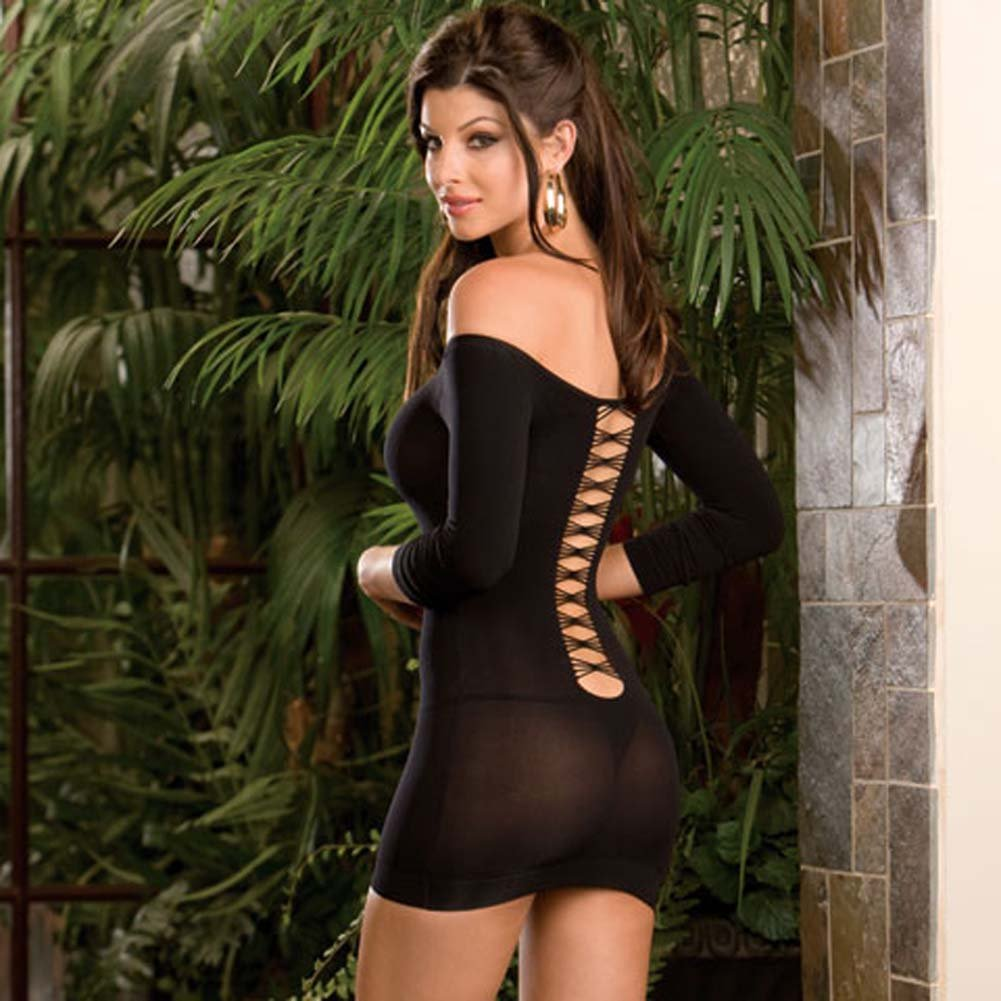 Club Scene Cut Out Dress and G-String - View #2