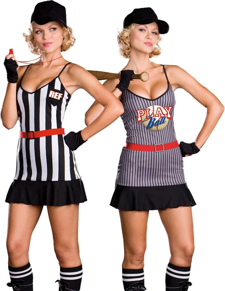 Fully Reversible Double Play Sports Costume Small - View #1