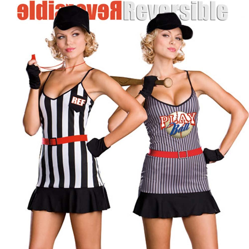 Fully Reversible Double Play Sports Costume Large - View #1