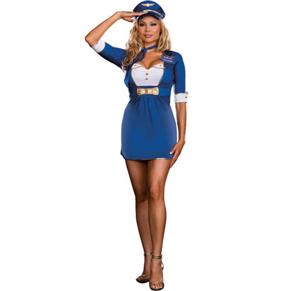 First Class Flirt Costume Plus Size 3X/4X - View #2