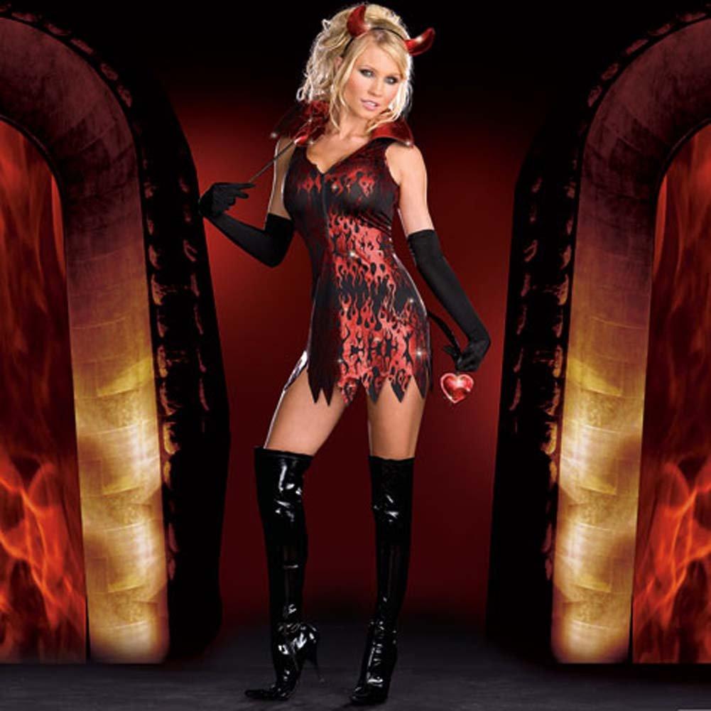 Devilicious Costume Medium - View #2